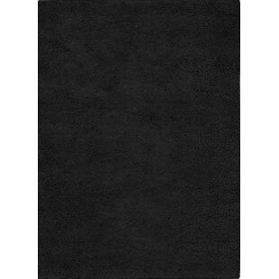 Great deal Henley Hand-Tufted Black Area Rug ByWildon Home ®