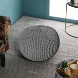 20 Round Pouf Ottoman by Dakota Fields