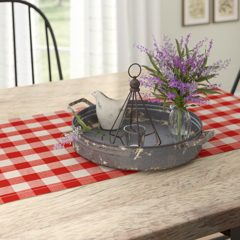 608cb20d69 Gracie Oaks Wadlington Round Decorative Iron Tray with Handle ...