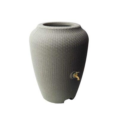 Wicker 50 Gallon Rain Barrel Algreen Color: Taupe