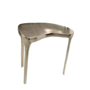 Ohalloran Aluminum Organic End Table