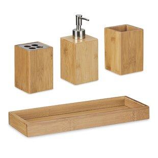 Alle Badaccessoires: Material - Holz zum Verlieben | Wayfair.de
