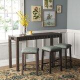 Panola 4 Piece Pub Table Set by Gracie Oaks