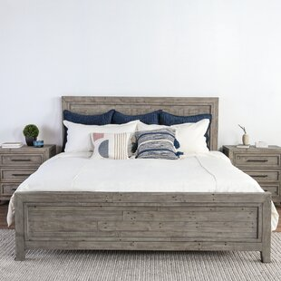 Kimberley Reclaimed Pine Platform Bed by Millwood Pines