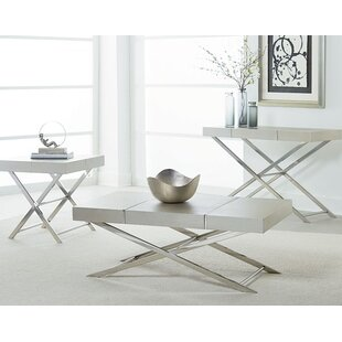 Ava 3 Piece Coffee Table Set Standard Furniture