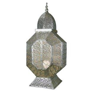 Best Deals Splendid Transitional Metal Lantern By World Menagerie