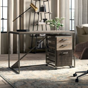 Edgerton Industrial 2 Piece Desk Office Suite by Greyleigh Bargain