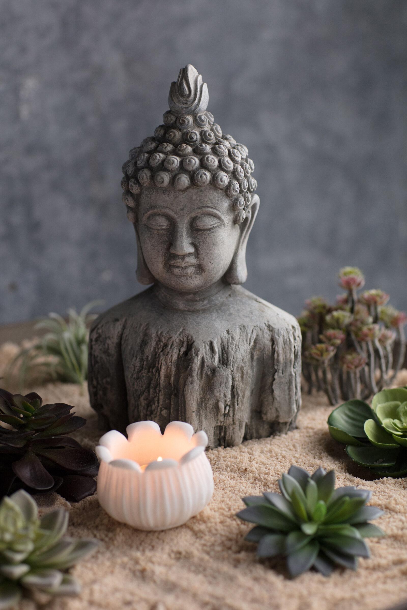 World Menagerie Vanna Buddha Bust Reviews Wayfair