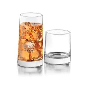 Cabos 16 Piece Glass Assorted Glassware Set