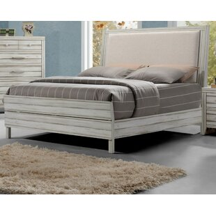 Highland Dunes Gent Upholstered Panel Bed