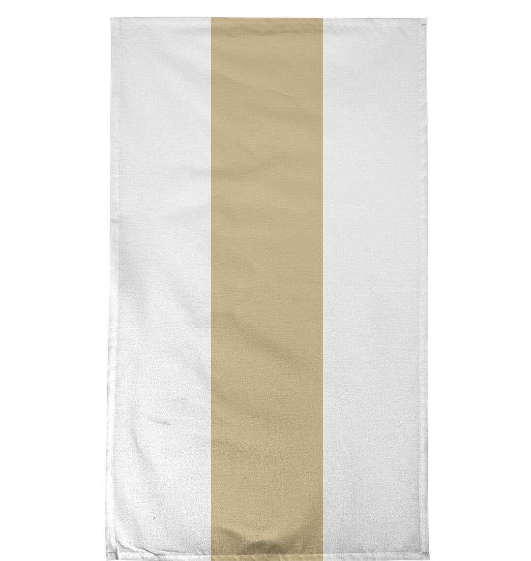 East Urban Home Football Team Stripes New Orleans Tea Towel Wayfair