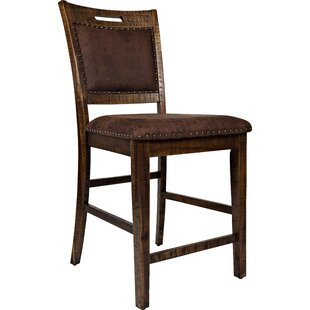 Oilton 24 Bar Stool (Set of 2) Loon Peak