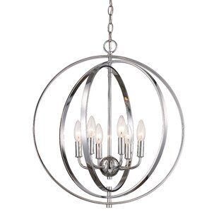 Bebington 6-Light Foyer Chandelier by Mercer41