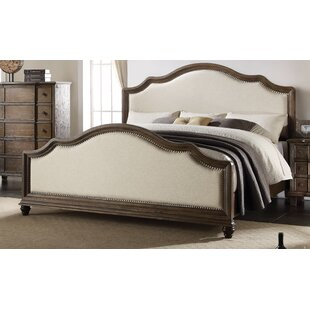 Upholstered Panel Bed by Three Posts Discount