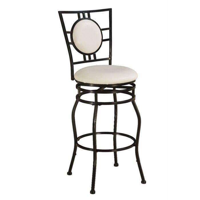 Marvelous Rylen Metal Adjustable Height Swivel Bar Stool Machost Co Dining Chair Design Ideas Machostcouk