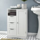 "Ashland 22.05"" W x 32.13"" H x 13.39"" D Free-Standing Bathroom Cabinet"