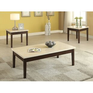 Libra 3 Piece Coffee Table Set by A&J Homes Studio Spacial Price