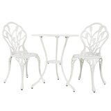 Duhon Outdoor 3 Piece Bistro Set