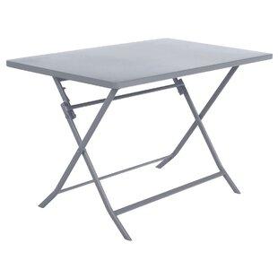 Nifleim Folding Steel Bistro Table By Sol 72 Outdoor