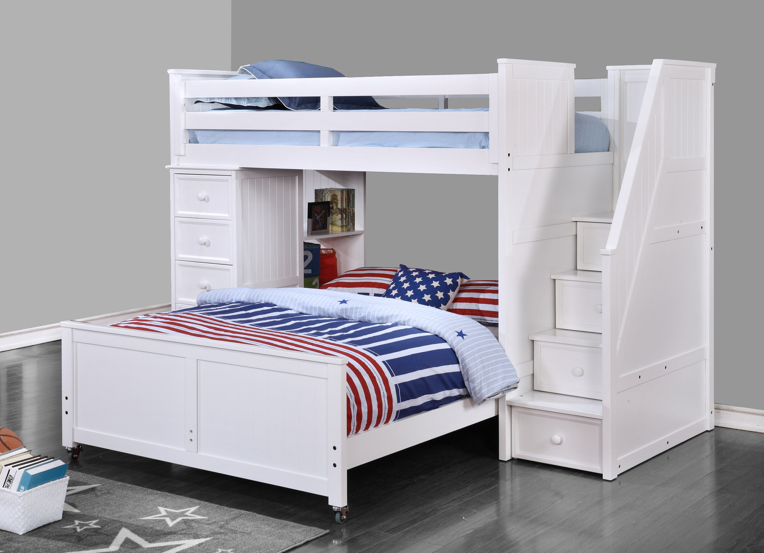 Full Over Full L Shaped Bunk Beds Cheaper Than Retail Price Buy Clothing Accessories And Lifestyle Products For Women Men