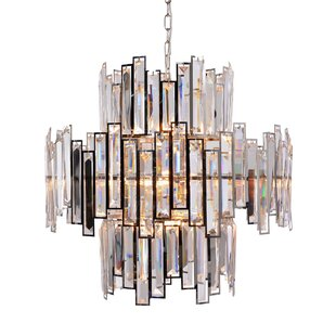 Rye Abstract Crystal Chandelier by Rosdorf Park