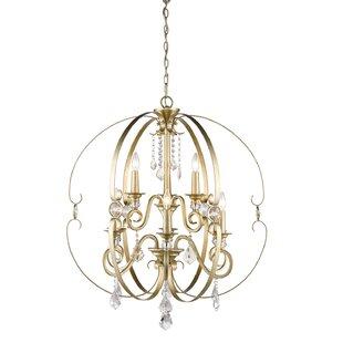 Willa Arlo Interiors Hardouin 9-Light Globe Chandelier