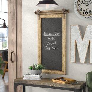 Wall-Mounted Chalkboard