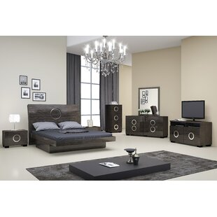 Madalyn Platform 4 Piece Bedroom Set