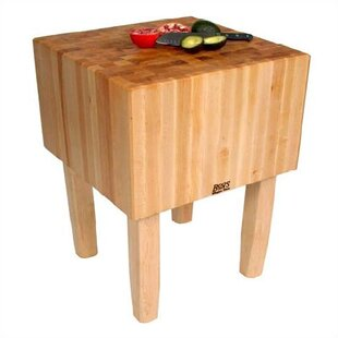 BoosBlock Prep Table With Butcher Block Top. By John Boos