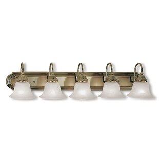 Compare Forestport 5-Light Vanity Light By Alcott Hill