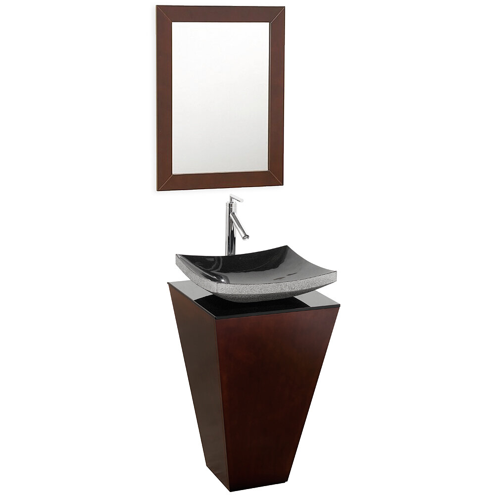 Wyndham Collection Esprit 35 75 Pedestal Bathroom Sink Reviews Wayfair