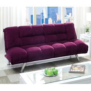 Oberon Corduroy Convertible Sofa by Hokku..