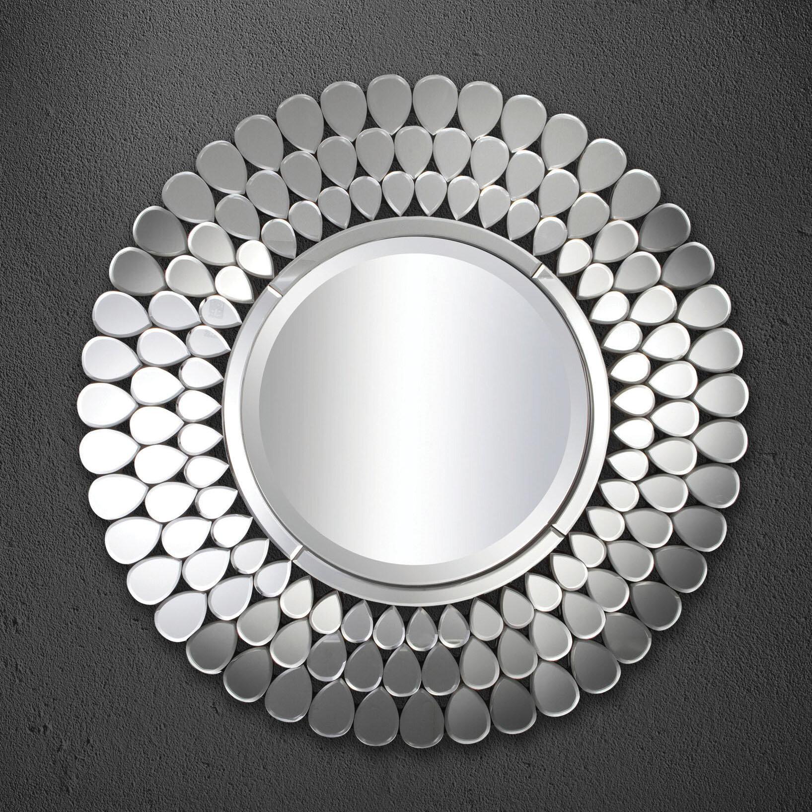 Rosdorf Park Ybarra Modern Contemporary Beveled Venetian Accent Mirror Wayfair