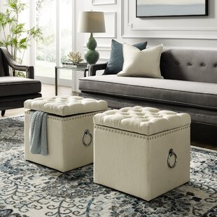 Mcclelland Tufted Storage Ottoman by Mercer41