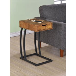 Loyd End Table with Storage by Union Rustic