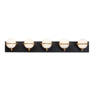 Modern Contemporary Gold Bathroom Light Fixtures Allmodern