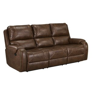 Shop University Reclining Sofa by Loon Peak