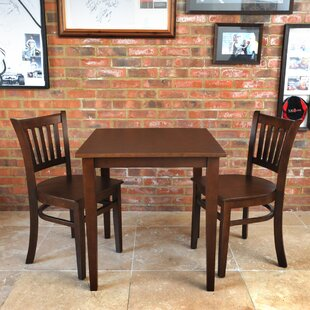 Keira Dining Set With 2 Chairs By Ophelia & Co.