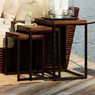 Great Price Ocean Club Nesting Tables (Set of 3) by Tommy Bahama Home