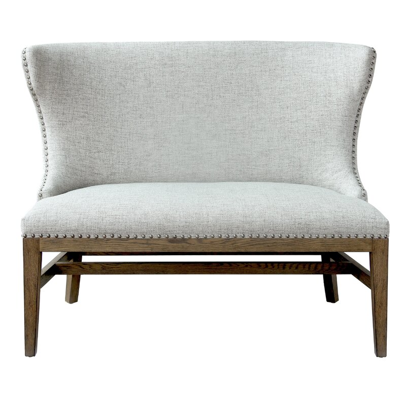 Robledo Upholstered Bench. Get the Look: Scrivano FIXER UPPER Cottage Decor!