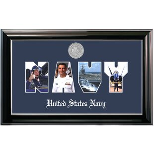 Navy Collage Photo Classic Picture Frame By Patriot Frames