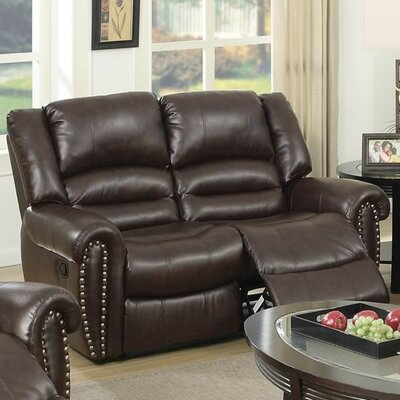 Fantastic Sabin Reclining Loveseat Charlton Home Upholstery Brown Gamerscity Chair Design For Home Gamerscityorg