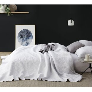 Gracie Oaks Labadie Dye-Free Supersoft Pre-Washed Quilt