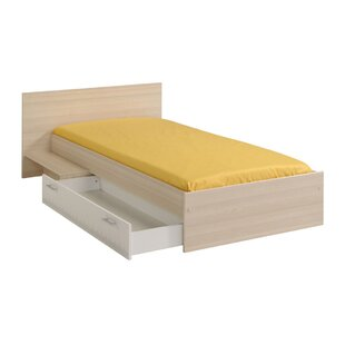 Demeter Twin Platform Bed with Drawer by Zoomie Kids