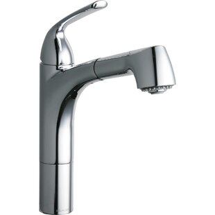 Gourmet Pull Out Single Handle Kitchen Faucet