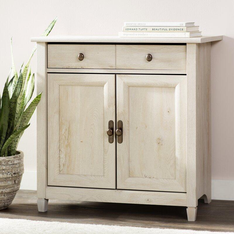 Lark Manor Lemire 2 Door And 2 Drawer Accent Cabinet Reviews Wayfair