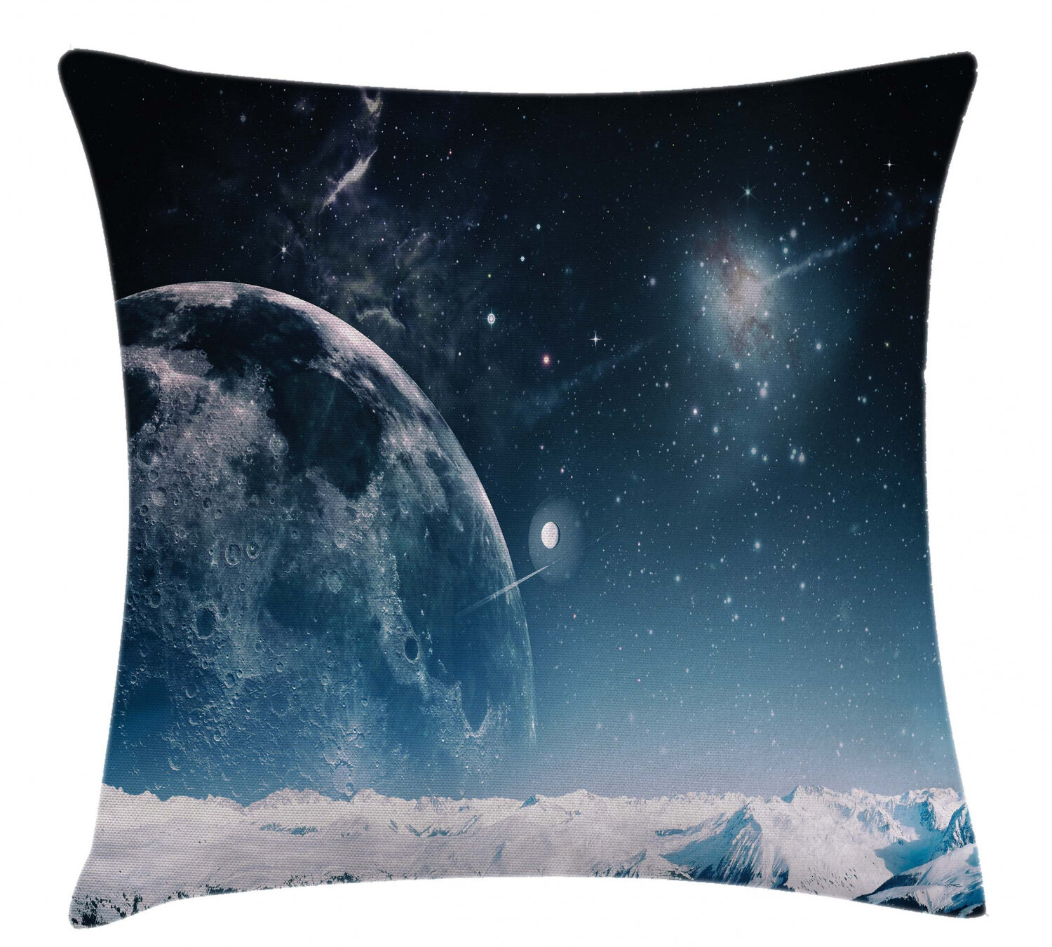 East Urban Home Another World Landscape Atmosphere Crater Galaxy Nebula Outer Space Infinity Indoor Outdoor 26 Throw Pillow Cover Wayfair