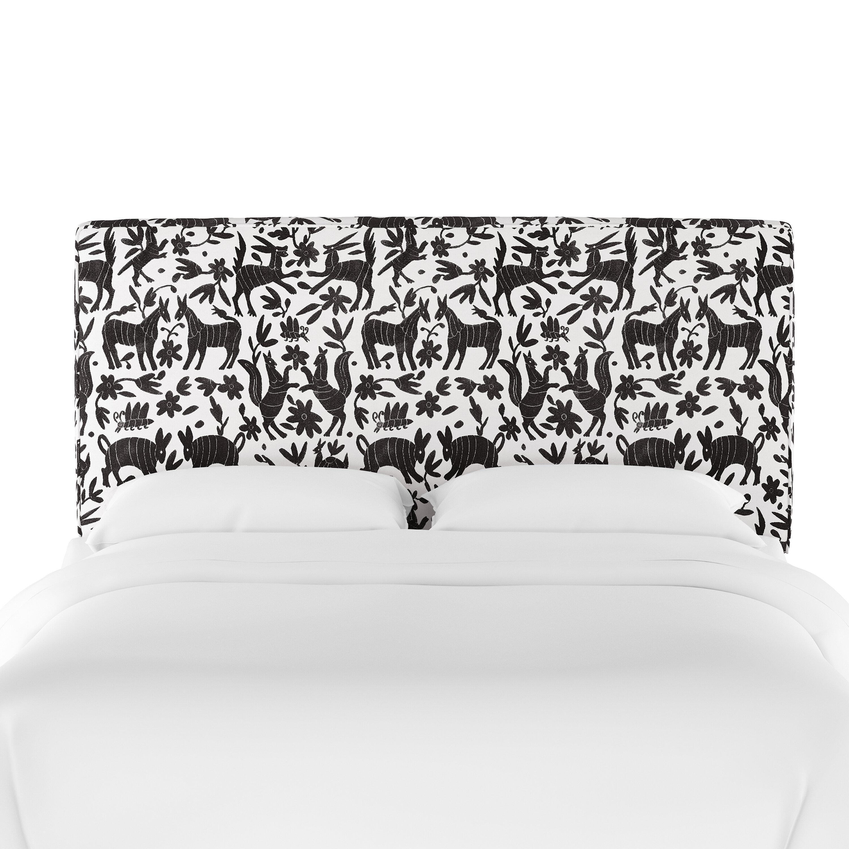 Allmodern Leonetti Seam Upholstered Panel Headboard Wayfair