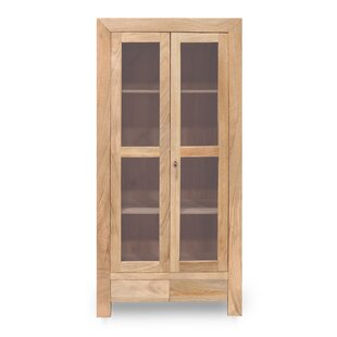 Donoghue Solid Mango Display Cabinet By Union Rustic