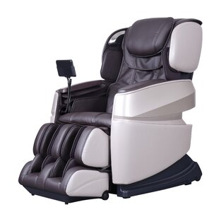 Latitude Run Touch 3D Reclining Full Body Zero Gravity Heated Massage Chair (Set of 3)